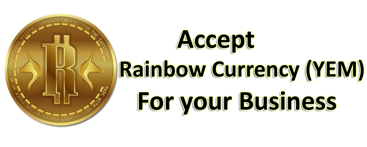 accept rainbow currency yem