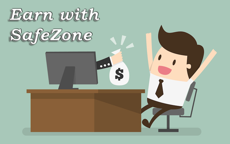 earn with safe zone