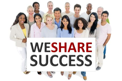 share success