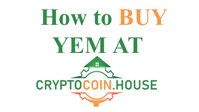 how to Buy YEM at crypto coin house