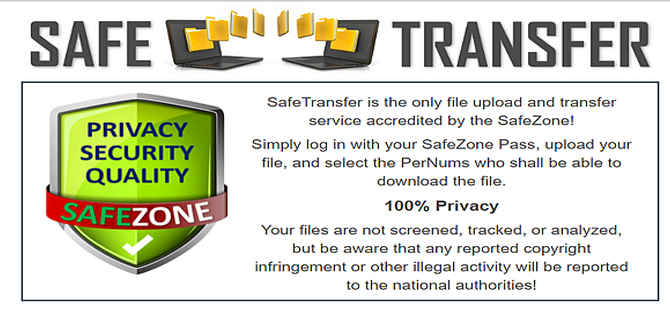 Safe Transfer - a service by Safe Zone
